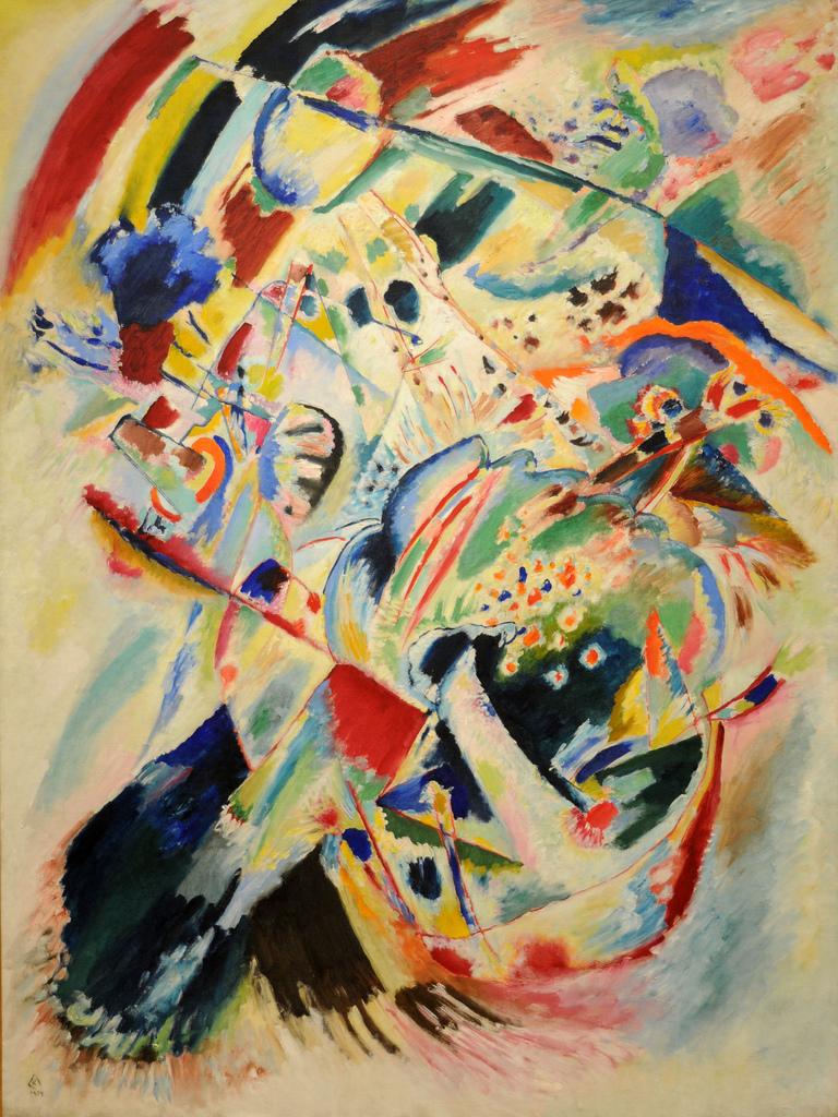 'Pintura nº 201' (1914) - Vasily Kandinsky