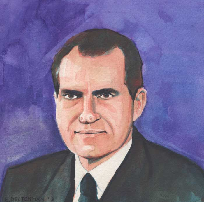 'Richard Nixon' - Emily Deutchman