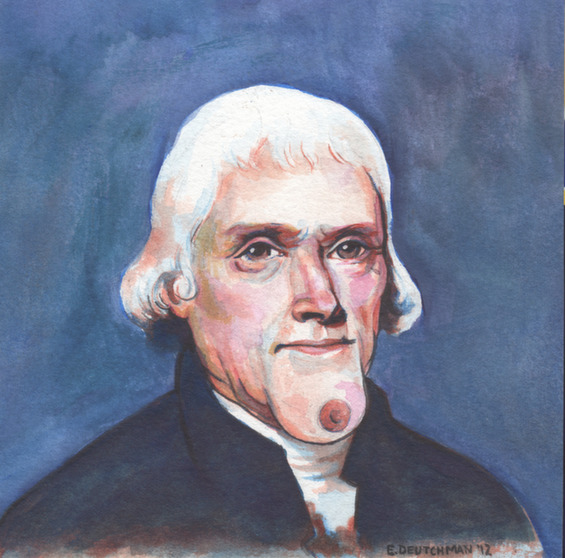 'Thomas Jefferson'- Emily Deutchman