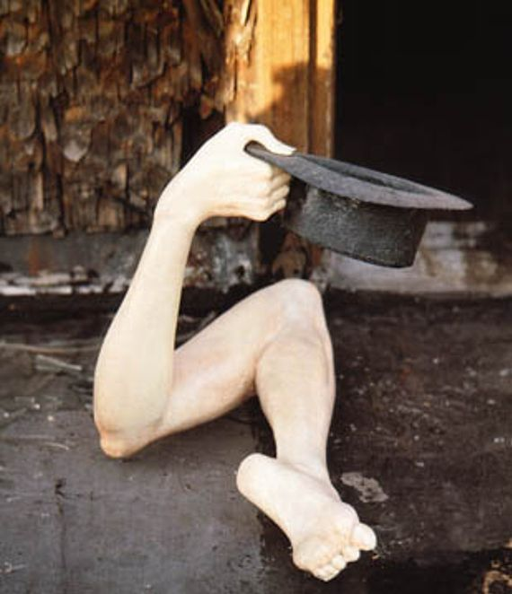 """The Beggar"" - H.R. Giger, 1963"