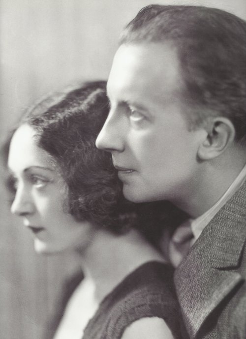 Henri Martinie - Nusch y Paul Éluard, 1935