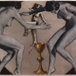 Nusch Éluard – Photo Collage, ca. 1937 Collection of Timothy Baum, New York