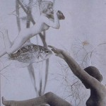 Nusch Eluard- Bois des Iles, Precious woods, Photo-collage c. 1937 Collection of Timothy Baum, New York.