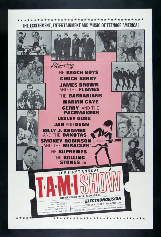 Cartel del T.A.M.I. Show, 1964