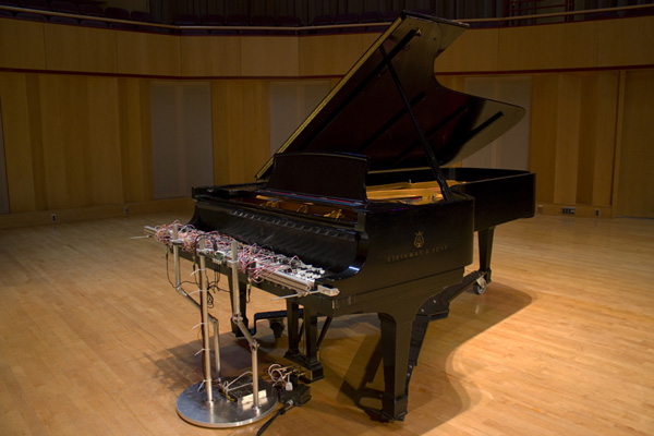 'Cloud piano' - David Bowen
