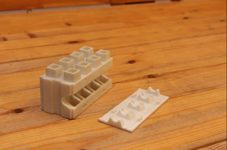 Prototipo de 'Smart Brick' - Foto: Kite Brick