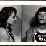 Betty Joan Knight, detenida en 1959 por vandalismo y borrachera. La multaron con 5 dólares (smalltownnoir.com)