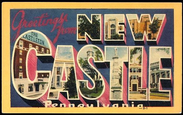 Postal de New Castle (smalltownnoir.com)
