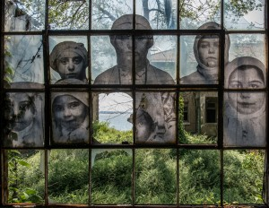 """Unframed Ellis Island"" © JR"