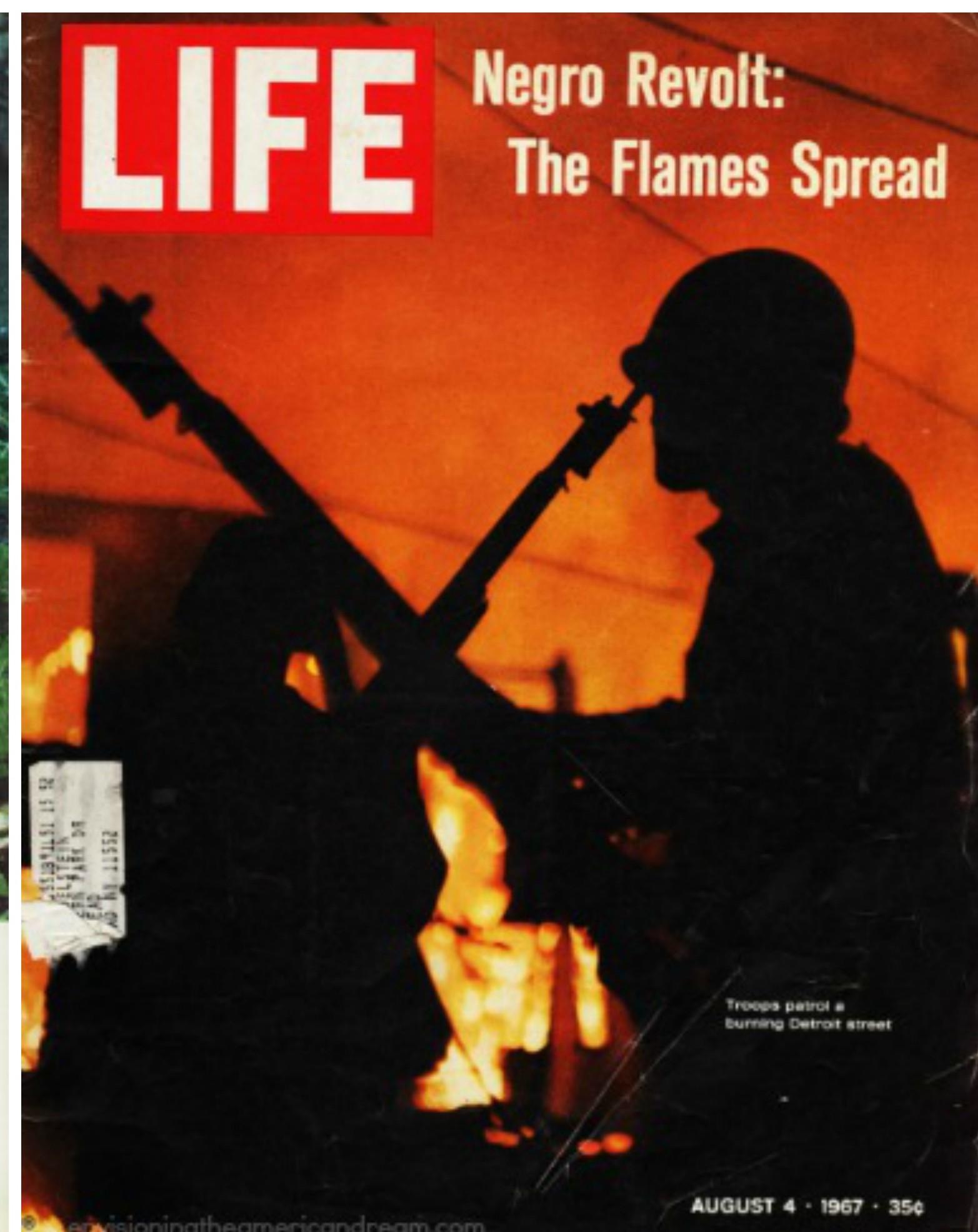 "Portada de la revista ""Life"" del 4 de agosto de 1967"