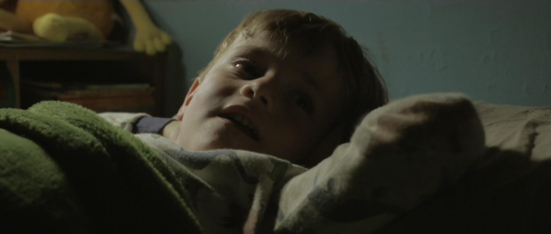 Fotograma de 'Tuck me in', el cortometraje de Ignacio F. Rodó - (Filminute)