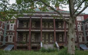 El edificio del Ellis Island Immigrant Hospital en la actualidad - Foto: Save Ellis Island