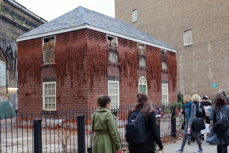'The Melting House' con el aspecto que presentaba el 16 de octubre - Foto: Merge Destival