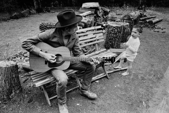 Bob Dylan, 1967 © Elliott Landy