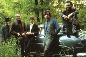The Band, desde la izquierda: Danko, Helm, RObertson, Manuel y Hudson © Elliot Landy