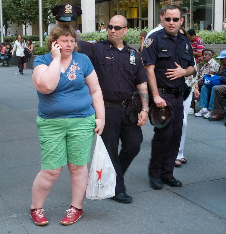 'Cops' - Haley Morris-Cafiero