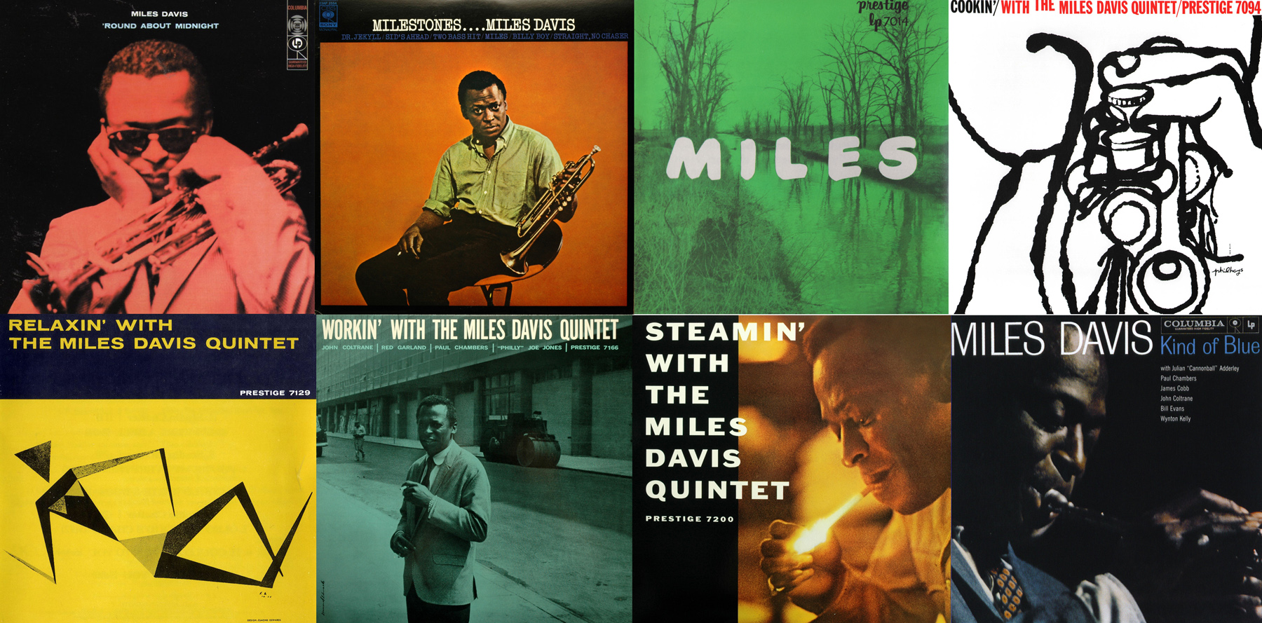 Discos del quinteto de Miles Davis