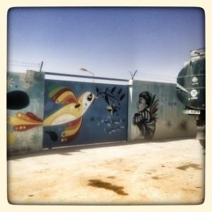 Mural - Inside Za'Atari