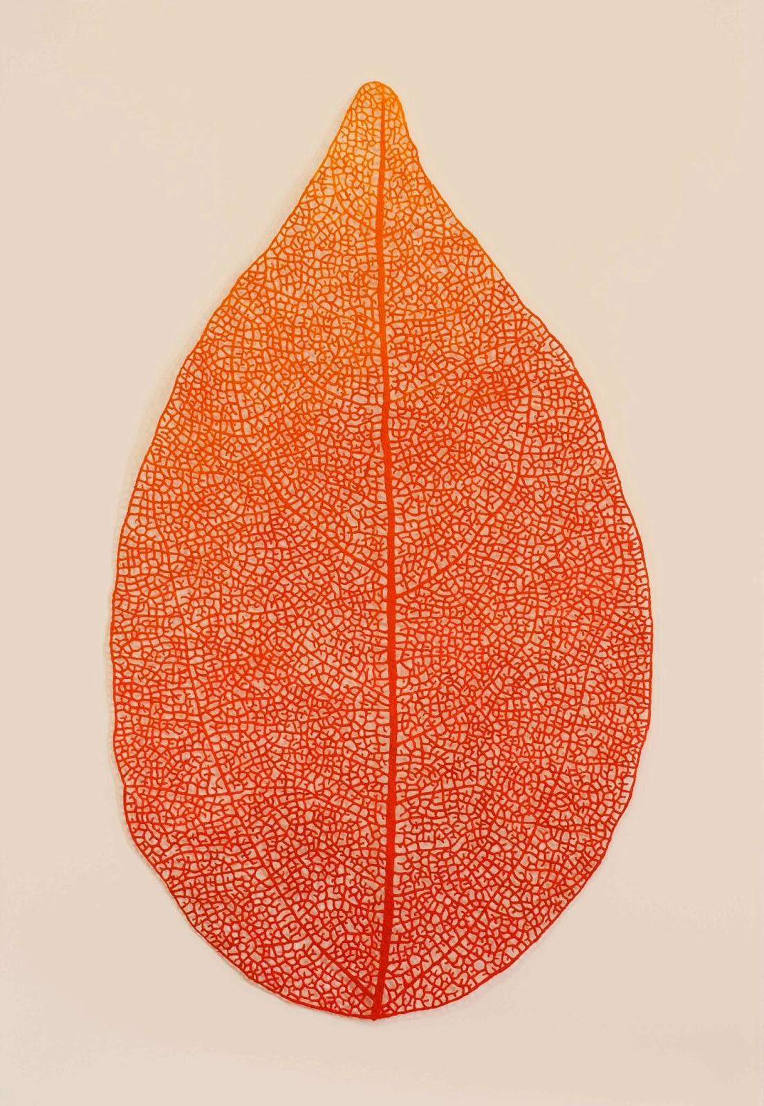 'Autumn leaf' - Meredith Woolnough