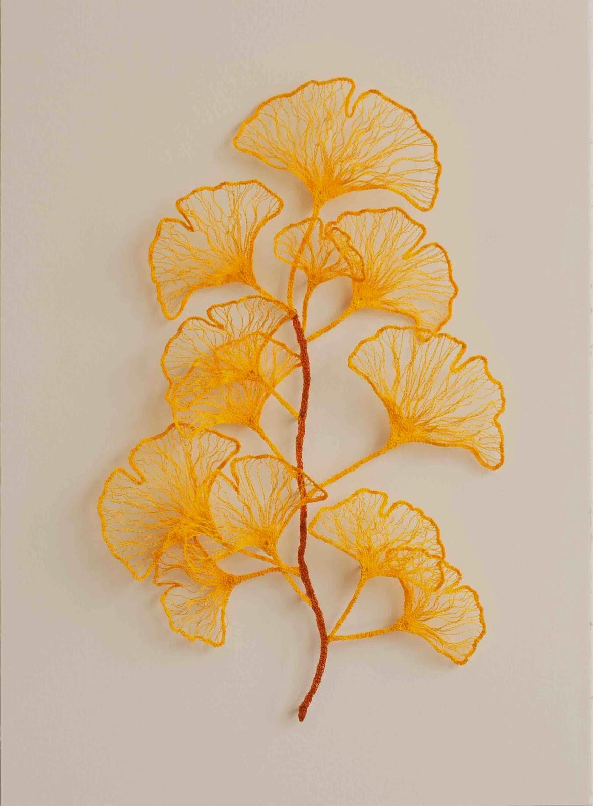 'Ginkgo branch' - Meredith Woolnough