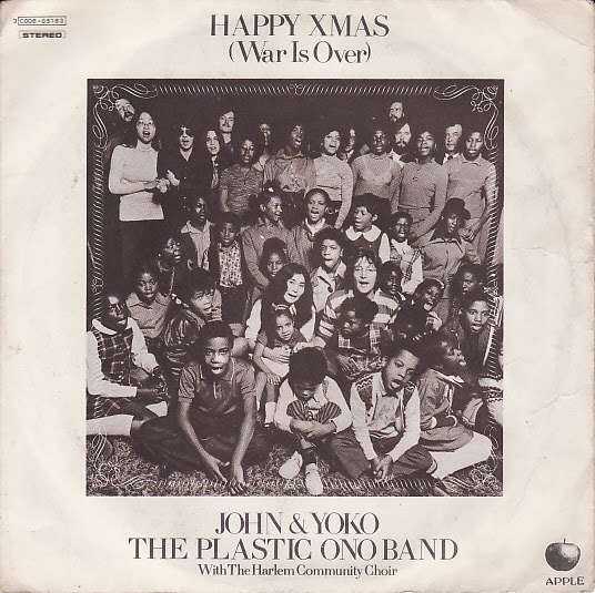 "Carpeta del disco sencillo ""Happy Xmas (War Is Over)"", 1971"
