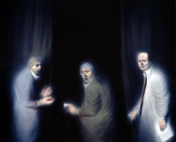 'Three Oncologists', 2002 - Ken Currie
