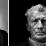Izquierda, James Dean, 1955 © Phil Stern / Derecha, Samuel Beckett, 1976 © Jane Bow