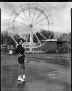 Ms. A. Torresola at Oaks Park © Jake Shivery