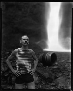Mr. R. Graves, Latourell Falls, 2010 © Jake Shivery