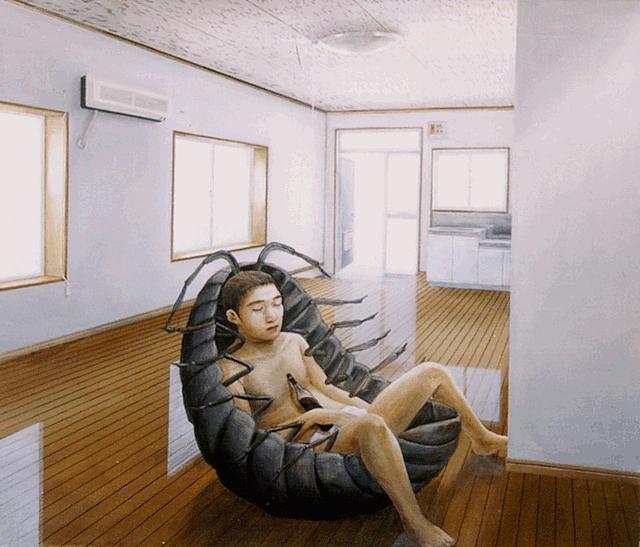 Obra del artista japonés Tetsuya Ishida