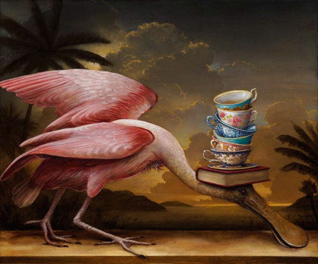 'Birds of America: Audubon's Tea' - Kevin Sloan