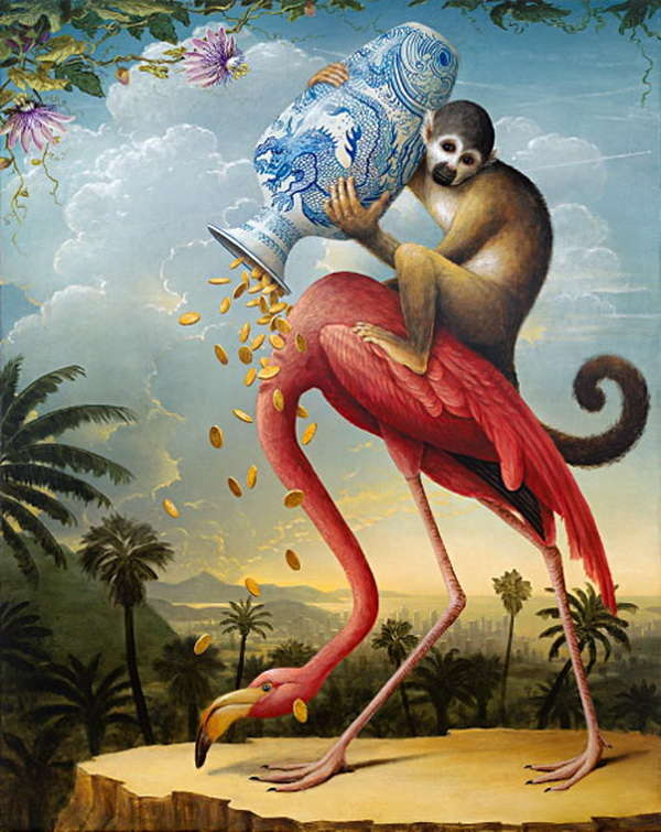 'Birds of America: The Donation'- Kevin Sloan
