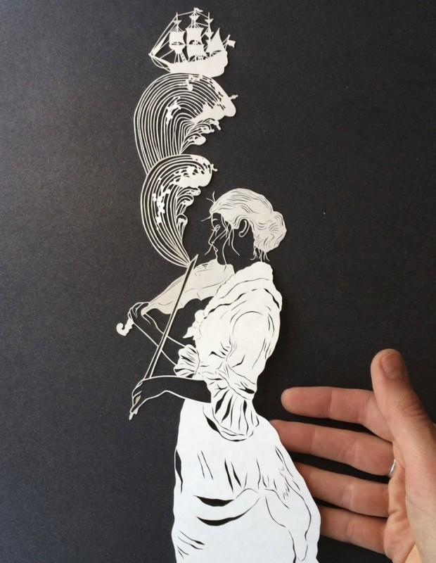 'Violin Piece' - Maude White