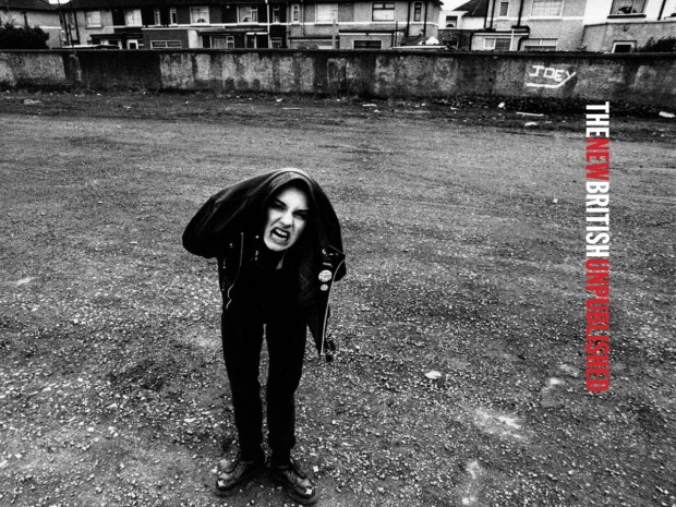 Sinead O'Connor, Dublín, 1987 © Anton Corbijn (Captura de The New British)