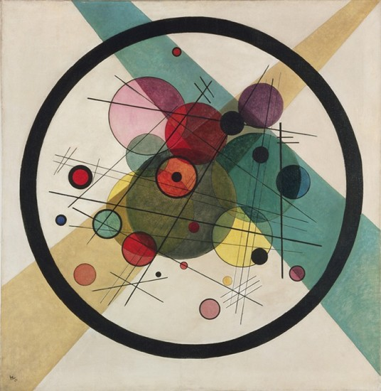 "'Circles Within A Circle"" - Vasily Kandinsky, 1923"