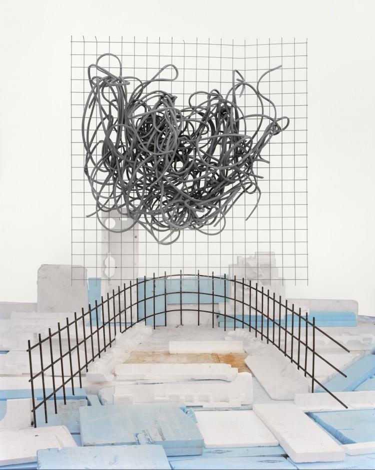 '#30 Styrofoam and Rebar' - Waste Management - Vincent Skoglund