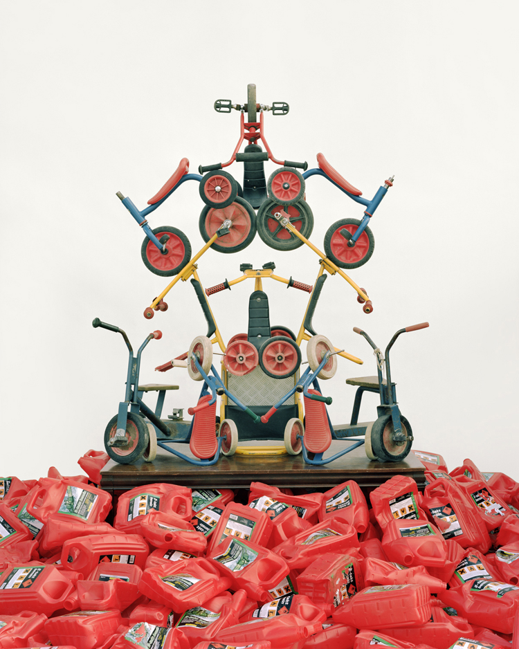 '#32 Tricycles and Petrol Cans' - Waste Management - Vincent Skoglund