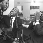 Muddy Waters, Otis Spann, Sonny Terry y Brownie McGee, 1964 © John 'Hoppy' Hopkins