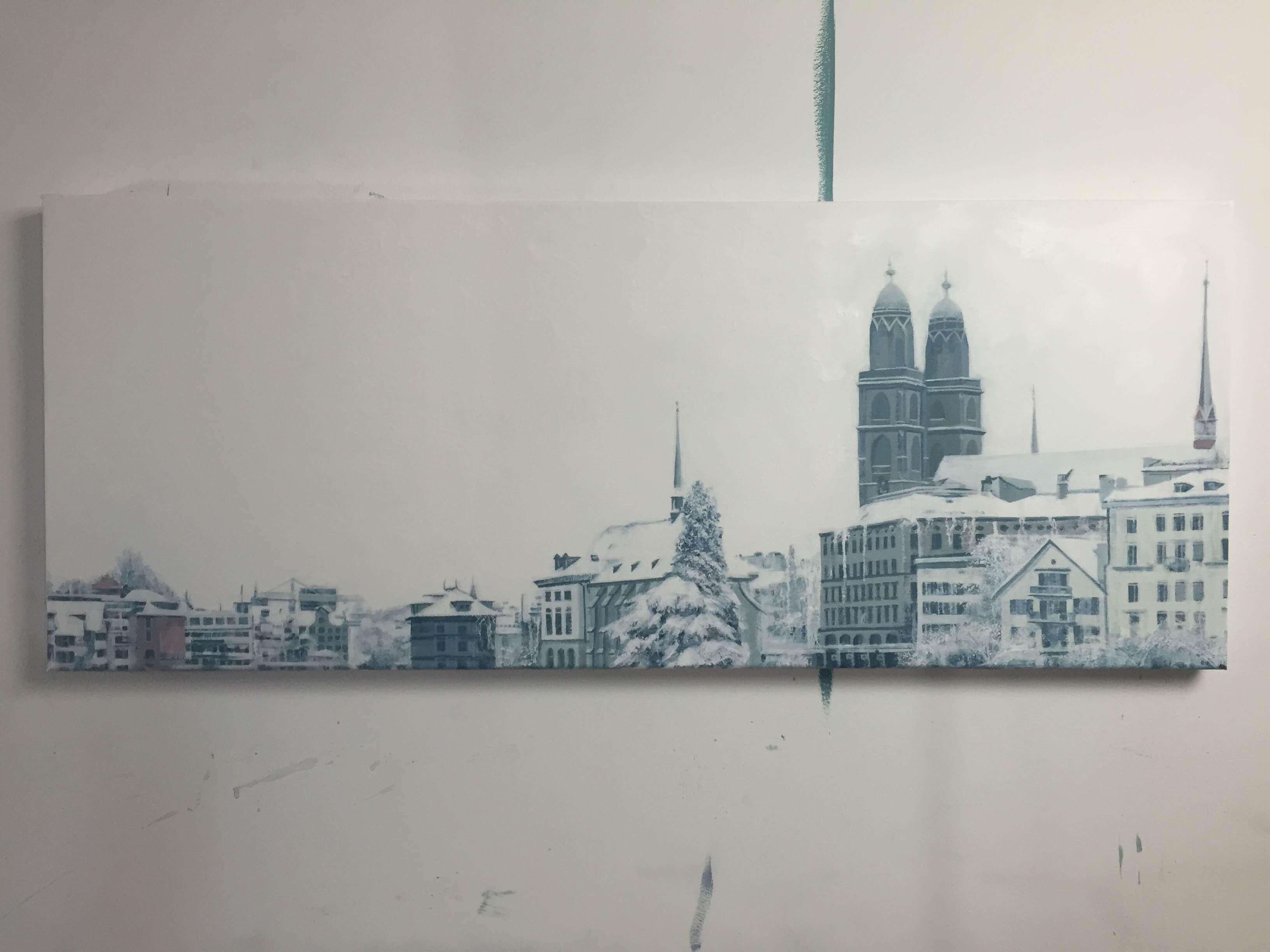 'Snowing in Zurich' - Onur Dinc