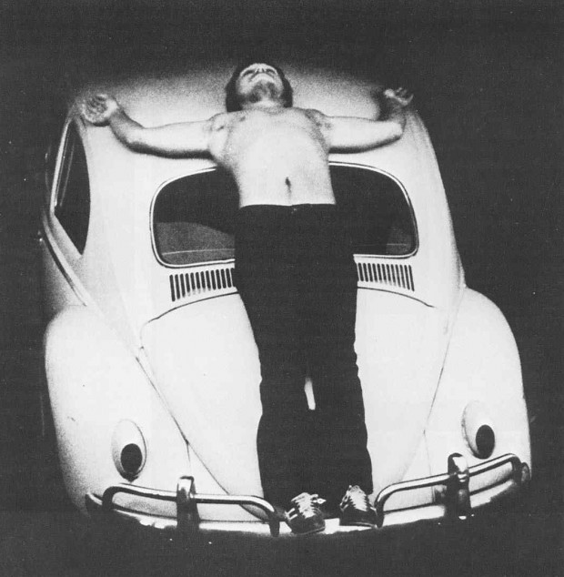 """Trans-Fixed"" (Chris Burden, 1974)"