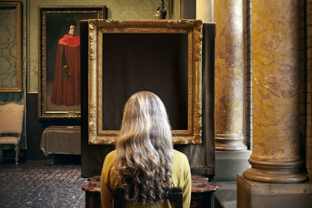"""¿Que veis? El concierto. Vermeer"" © Sophie Calle/ADAGP, Paris, 2015. Courtesy Galerie Perrotin and Paula Cooper Gallery"