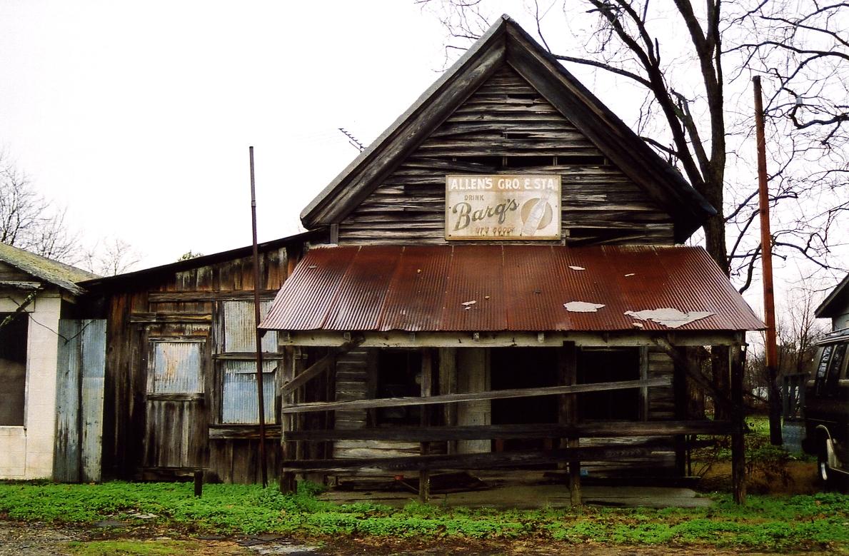 Allen's Grocery, Cotton Plant Arkansas (Foto. Wikimedia Commons)
