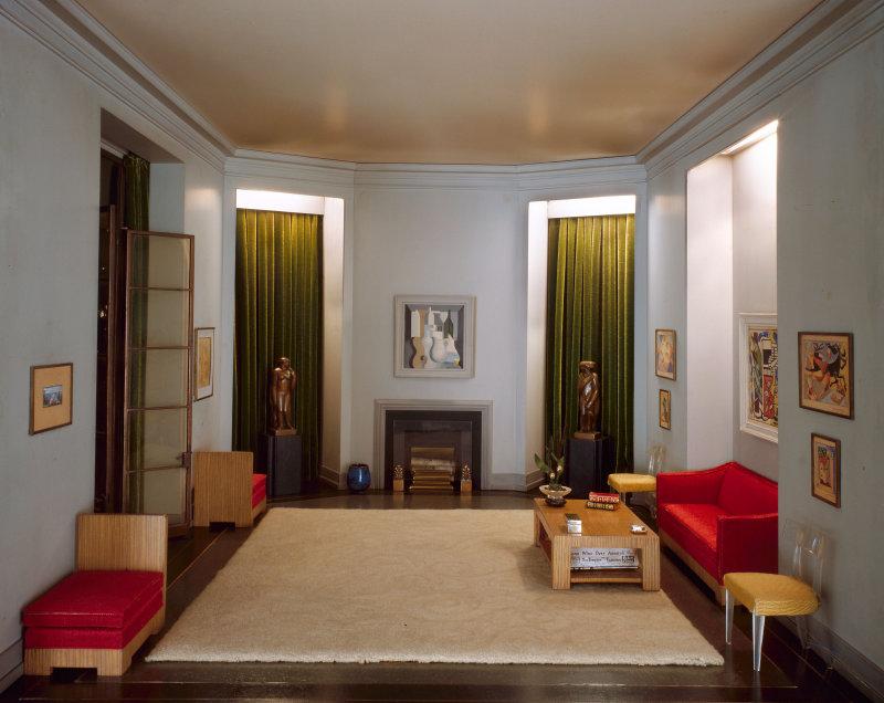 'California Hallway, c. 1940'. c. 1940 - Narcissa Niblack Thorne