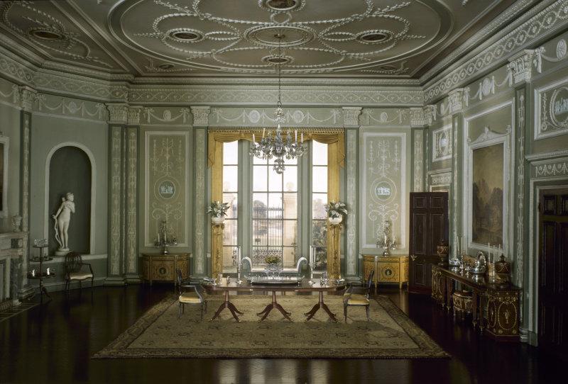 'English Dining Room of the Georgian Period,  1770-90'. c. 1937 - Narcissa Niblack Thorne