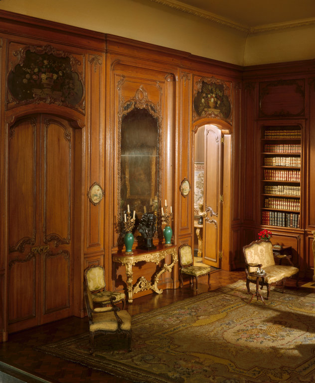 'French Library of the Louis XV Period, c. 1720', c. 1937 - Narcissa Niblack Thorne