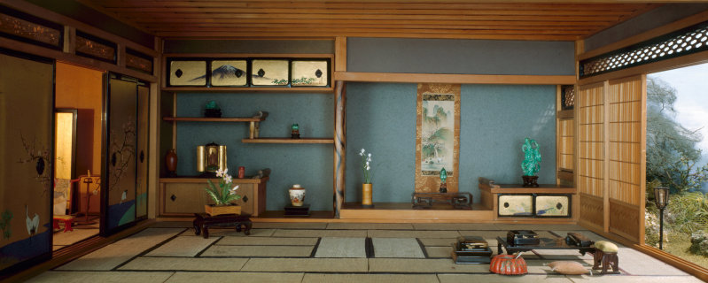 'Japanese Traditional Interior', c. 1937 - Narcissa Niblack Thorne