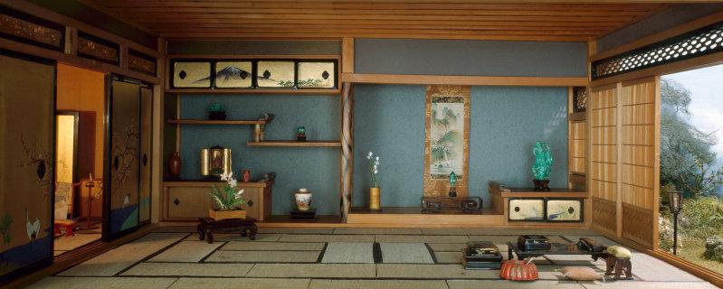 'Japanese Traditional Interior', c. 1937 - Narcissa Niblack Thorne
