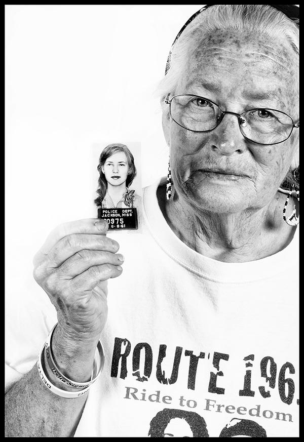 Joan Trumpauer en la actualidad. Foto: © J.M. Giordano