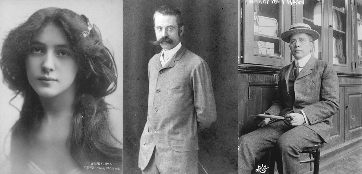 Evelyn Nesbit, Stanford White y  Harry Kendall Thaw