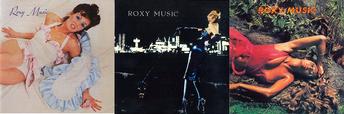 Los tres primeros discos de Roxy Music